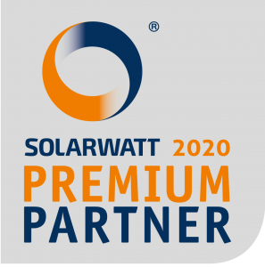 Solarwatt premiumpartner 2020 zegel