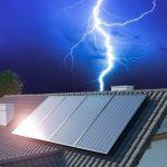 Bliksembeveiliging zonnepanelen
