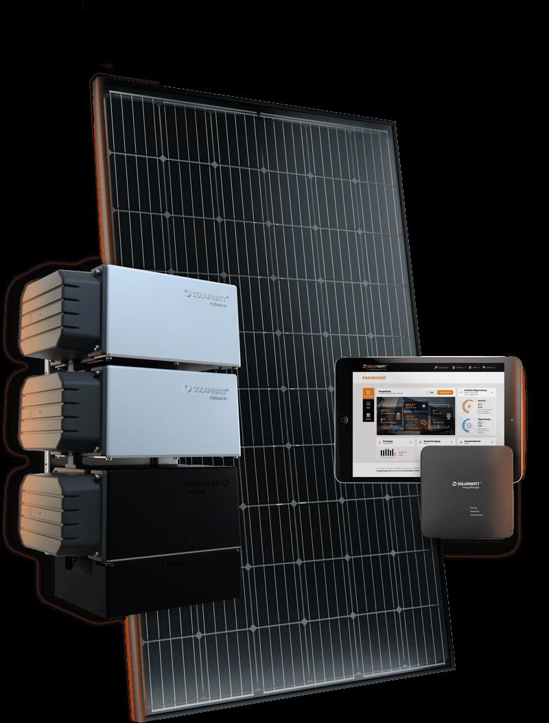 Groep Solarwatt producten
